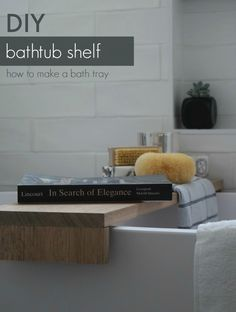 Give your bathroom an instant luxe feel with a timber bathtub shelf. Don't spend hundreds on a bath tray, make your own for a fraction of the cost following our easy tutorial. These trays are perfect for adding a bit of bathroom styling or to place a glass of vino while enjoying a bath. See how easy it is to make here >>>