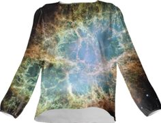 Crab Galaxy Silk Top - Available Here: http://printallover.me/collections/sondersky/products/0000000p-crab-galaxy-7