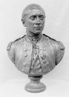 Jean-Antoine Houdon, Bust of John Paul Jones, c. 1781