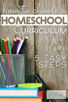It's one thing that many homeschool families find daunting. But it doesn't have to be that way. Choosing a homeschool curriculum for your family is the most important decision you can make. Let me help you make it a lot easier with these 5 simple steps! FREE printable included!