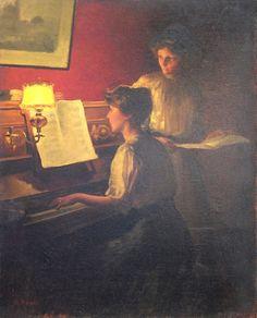 Marcel Rieder - ''La Leçon De Piano''