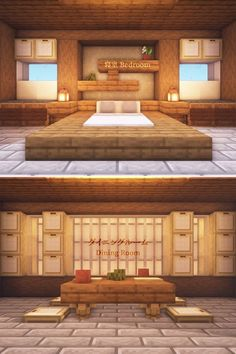 I made two Japanese themed room designs! ( : Minecraft I made two Japanese themed room designs! Project Minecraft, Villa Minecraft, Minecraft House Plans, Minecraft Mansion, Easy Minecraft Houses, Minecraft Room, Minecraft House Designs, Minecraft Architecture, Minecraft Blueprints