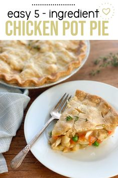 Chicken pot pie is a classic go to at our house!! This is why I needed to create a freezer friendly pot pie that the whole family would enjoy!! So easy, quick, and delicious all year round! #easy #freezermeals #makeahead #familydinner #freezerfoods   happymoneysaver.com Freezer Friendly Meals, Budget Freezer Meals, Frugal Meals, Make Ahead Freezer Meals, Meals For One, Homemade Chicken Pot Pie, Recipe Using Chicken, Easy Chicken Recipes, Lunch Recipes