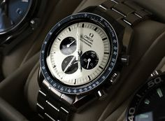 Omega Speedmaster Professional. An extremely rare specimen - Apollo 35th anniversary with the panda dial.