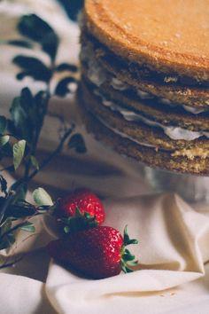 Naked cake fácil : via La Chimenea de las Hadas