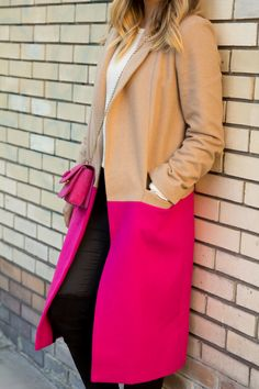 winter color blocking done RIGHT!