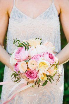 Bright, summery bouquet