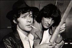 Robbie Robertson & the late great Rick Danko