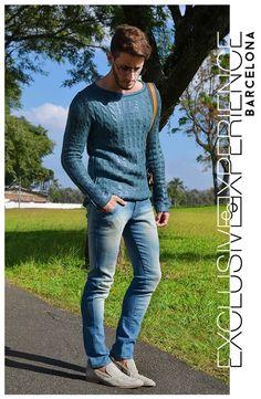 Look de la Semana para Él #lookdelasemana #lookoftheweek #totallook #bluejeans #tricotresinado #menstyle #fashionmen #tendenciashombre #tendencias #tendenciasdetemporada #exclusivexperience #barcelona #fashionbloggers #bloggers #fashionconsultants #valentinomogrezutt #johnnhojstylist #modahombre #estilismo @mogrezutt @johnnhojstylist @exclusivebcn TWITTER: @ExclusiveExBCN info@exclusivexperience.com