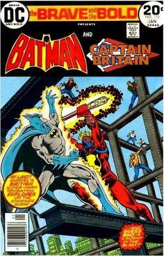 Batman and Captain Britain