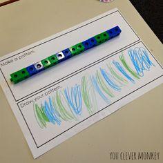Group Games Preschool Schools 51 Ideas For 2019 Maths Eyfs, Numeracy Activities, Childcare Activities, Eyfs Classroom, Small Group Activities, Preschool Activities, Math Math, Group Games, Teaching Patterns