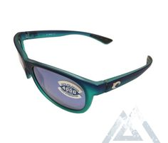 00eed43d341 Costa Del Mar Prop Sunglasses - Matte Caribbean Green Fade - Blue Mirror  400G Glass -