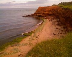 The red sand of PEI