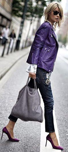 "Gitta Banko blogger ""Blondwalk"" Purple Rain"