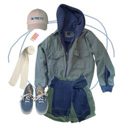 """""""heya"""" by paper-freckles ❤ liked on Polyvore featuring Urban Outfitters, Monki and Vans"""