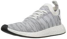 huge discount 5f3b9 f8a35 adidas Originals Men s NMD R2 PK Sneaker, White White Black, 4 M US