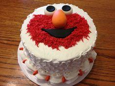 Elmo Cake by DeLeetree's