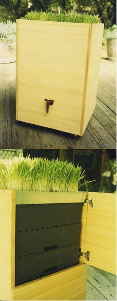 Daryl Hannah's eco green earth friendly products for sustainable living - Everyday Essentials - beautious bamboo worm bin