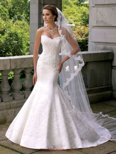 Wedding dress by David Tutera for Mon Cheri-Roxie