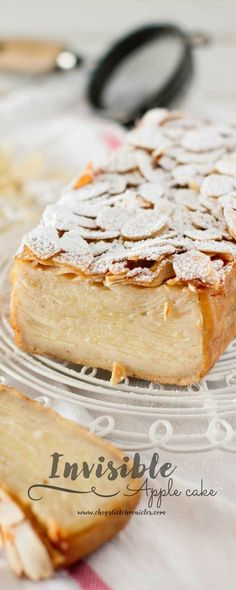 Invisible apple cake is taking Japan by storm right now. Relatively easy to bake and has fewer calories than normal cake because of a lot…