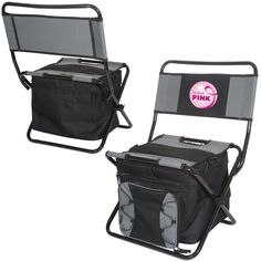 Polyester chair and cooler with EPE foam with PEVA lining. Cooler with one main zipper compartment that holds up to 40 cans and small front pocket. PP piping trim body outer shell. Chair back folds dow Train Truck, Swimming Diving, Thing 1, Summer Events, Track And Field, Gift List, Corporate Gifts, Vacation Trips, Crocodile