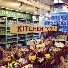 Design*Sponge / Fishs Eddy Tour- This shop in NY at Broadway and 19th is a nostalgia shopping dream.