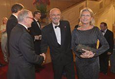 ROMY-Gala 2014: Rudi John, Reter Rabl und Ehefrau Susanne Rabl