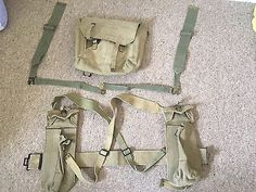 British WW2 Era 37 Pattern Webbing Set