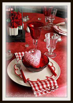 Winter Valentine Table