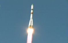 An unmanned Russian cargo spacecraft ferrying supplies to the International Space Station is plunging back to Earth and apparently out of control, an official said on Wednesday.
