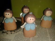 Angelito fimo porcelana fría biscuit primera comunión
