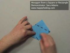Hexagon from a Square or Rectangle