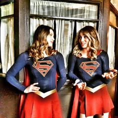 Double Trouble. #SupergirlCW