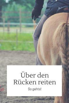 Richtig über den Rücken reiten - sehr wichtig für die Gesundheit des Pferds!