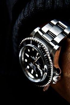 back in black - Rolex