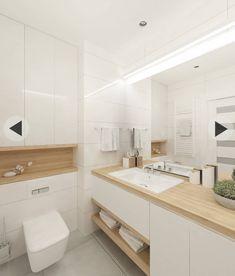 Small bathroom renovations 711357703619856333 - skandinavische Badezimmer von projekt Source by sodasan Minimalist Bathroom Design, Modern White Bathroom, Bathroom Design Small, Bathroom Layout, Bathroom Interior Design, Bathroom Ideas, Bathroom Organization, Bathroom Cabinets, Bathroom Mirrors