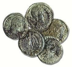 All Things Beautiful: Roman Coins: Art, Math and History All In One Lesson