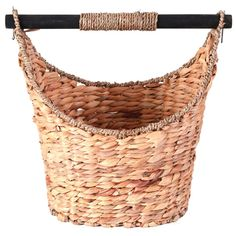 Vintiquewise x x Rustic Willow Toilet Paper Holder - Magazine Basket - The Home Depot