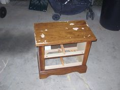 Crystal's Craft Spot: How to paint Particleboard furniture - pinning for the after pic
