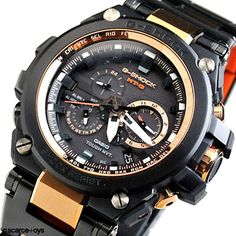 CASIO G-SHOCK MTG Black Rose Gold Watch MTG-S1000BD-5A (NEW) G Shock Watches Mens, Cool Watches, Watches For Men, G Shock Limited Edition, G Shock Mudmaster, Casio Watch, Bracelets For Men, Gold Watch, Rose Gold