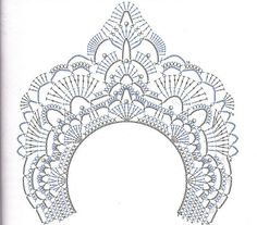 Вязанная корона