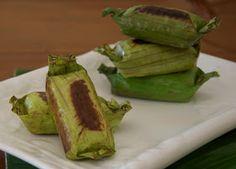 Indonesian Medan Food: Lemper Ayam Medan ( Shredded Chicken in blanket)