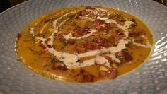 Græskar suppe Lchf, Eggs, Breakfast, Food, Morning Coffee, Essen, Egg, Meals, Yemek