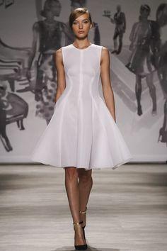 Lela Rose Ready To Wear Spring Summer 2015 New York #NYFW #SS15 #RTW