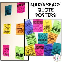 Welcome to my Makerspace - Teach Outside the Box Space Classroom, Classroom Environment, Science Classroom, Classroom Organization, Preschool Bulletin, Science Education, Classroom Ideas, Space Bulletin Boards, Maker Labs