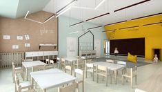NOWOCZESNE WNĘTRZE PRZEDSZKOLA Kindergarten, Conference Room, Autism, Table, Furniture, Design, Home Decor, Decoration Home, Room Decor