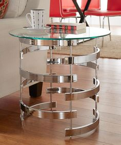 Take a look at this Lee Vortex Accent Table today!