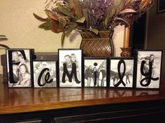 Decorative Block Letters | Decor Wooden Blocks | Pinterest