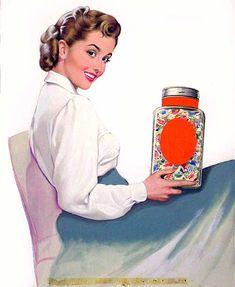 'Candy Sampler Ad  -  Lou Shabner