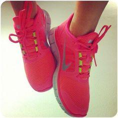 Pink nike running shoes Cheap Sneakers, Nike Shoes Cheap, Sneakers Nike, Cheap Nike, Nike Trainers, Buy Cheap, Pink Nike Shoes, Pink Nikes, Nike Outfits